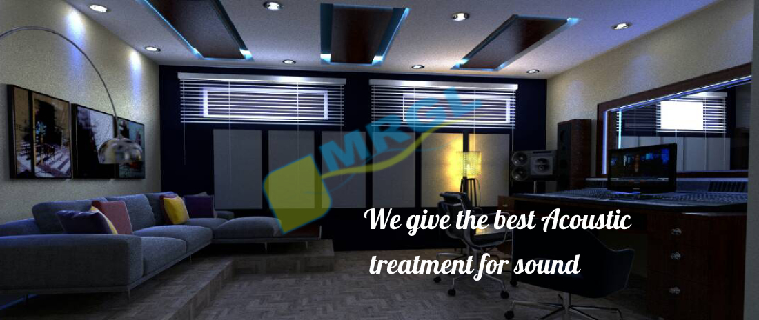 Wgive the best Acoustic Treatment for sound